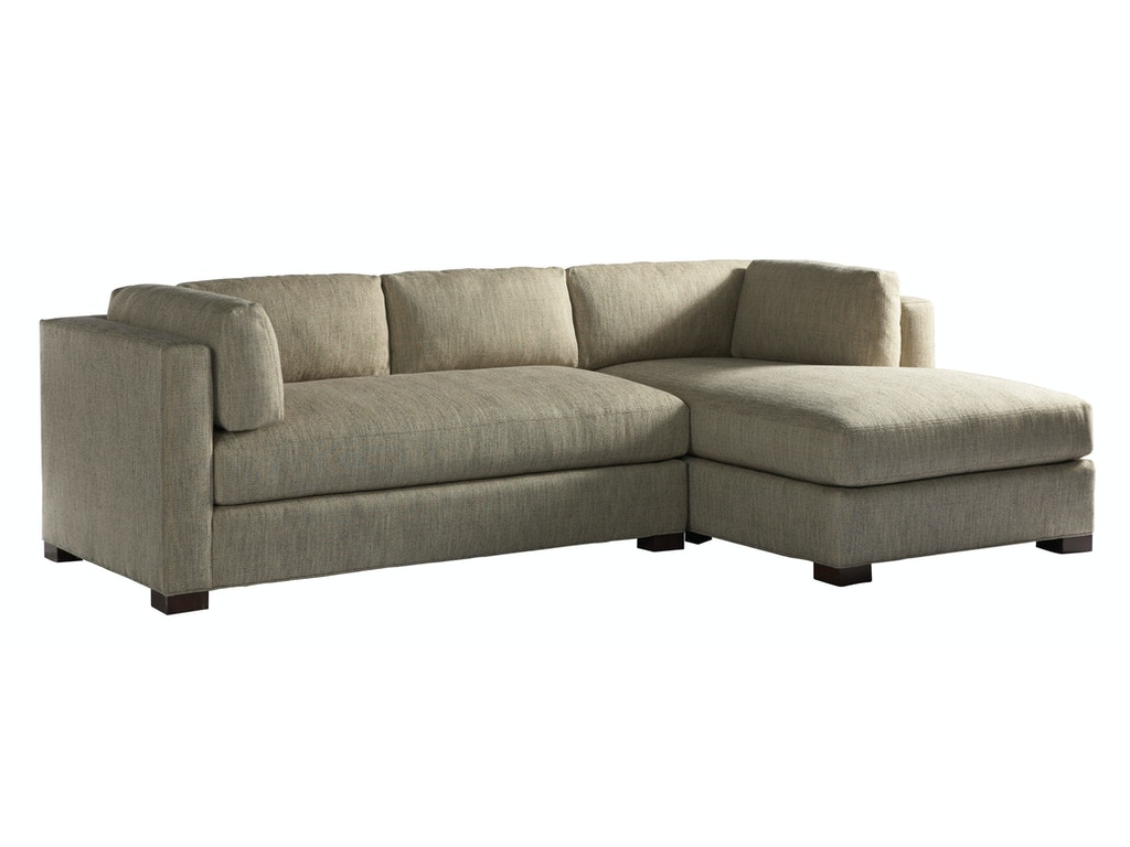Lillian August For Hickory White Living Room Sloane Sectional LA9101 Sectiona
