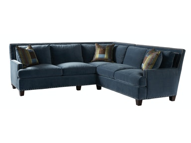 Lillian August for Hickory White Smithfield Sectional LA9102 Sectional
