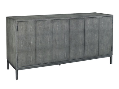Lillian August Ford Shagreen Console - Charcoal