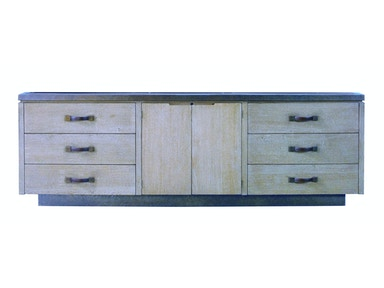 Lillian August Cole Cabinet - Weathered Wood