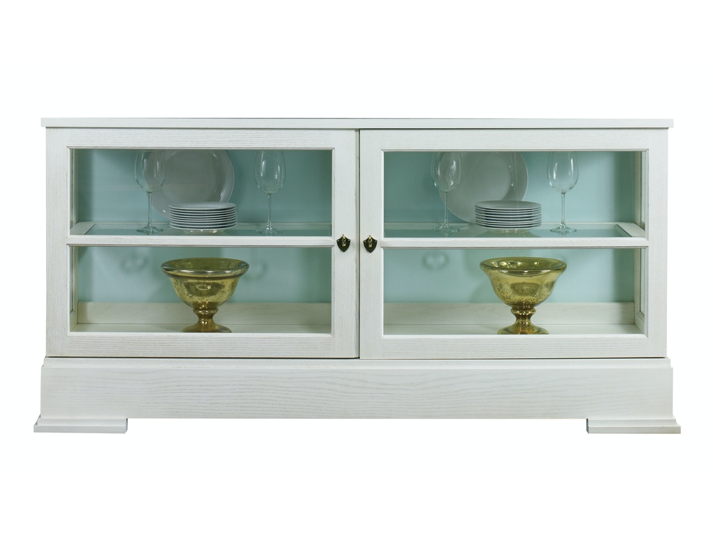 Lillian August For Hickory White Dining Room Sterling Grande Cabinet Base LA9