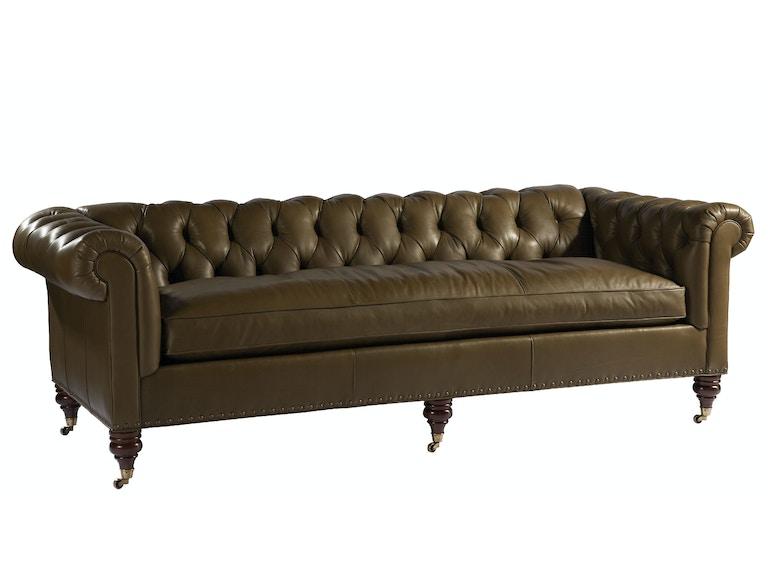 lillian august for hickory white living room lange sofa. Black Bedroom Furniture Sets. Home Design Ideas