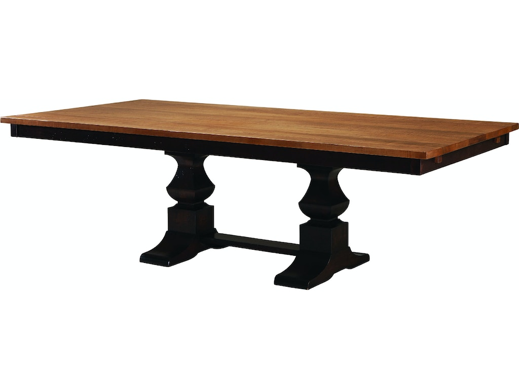 Palettes by winesburg dining room eleanor dbl pedestal for Table 6 greensboro nc