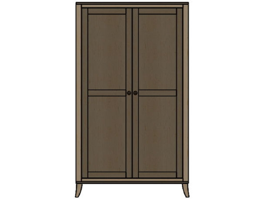 palettes by winesburg bedroom wardrobe 10253 schmitt furniture company new albany in. Black Bedroom Furniture Sets. Home Design Ideas