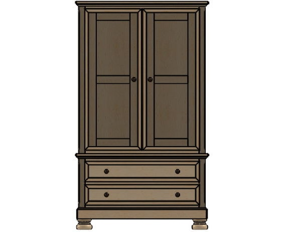 Palettes By Winesburg Bedroom Armoire 1 12254 Schmitt Furniture