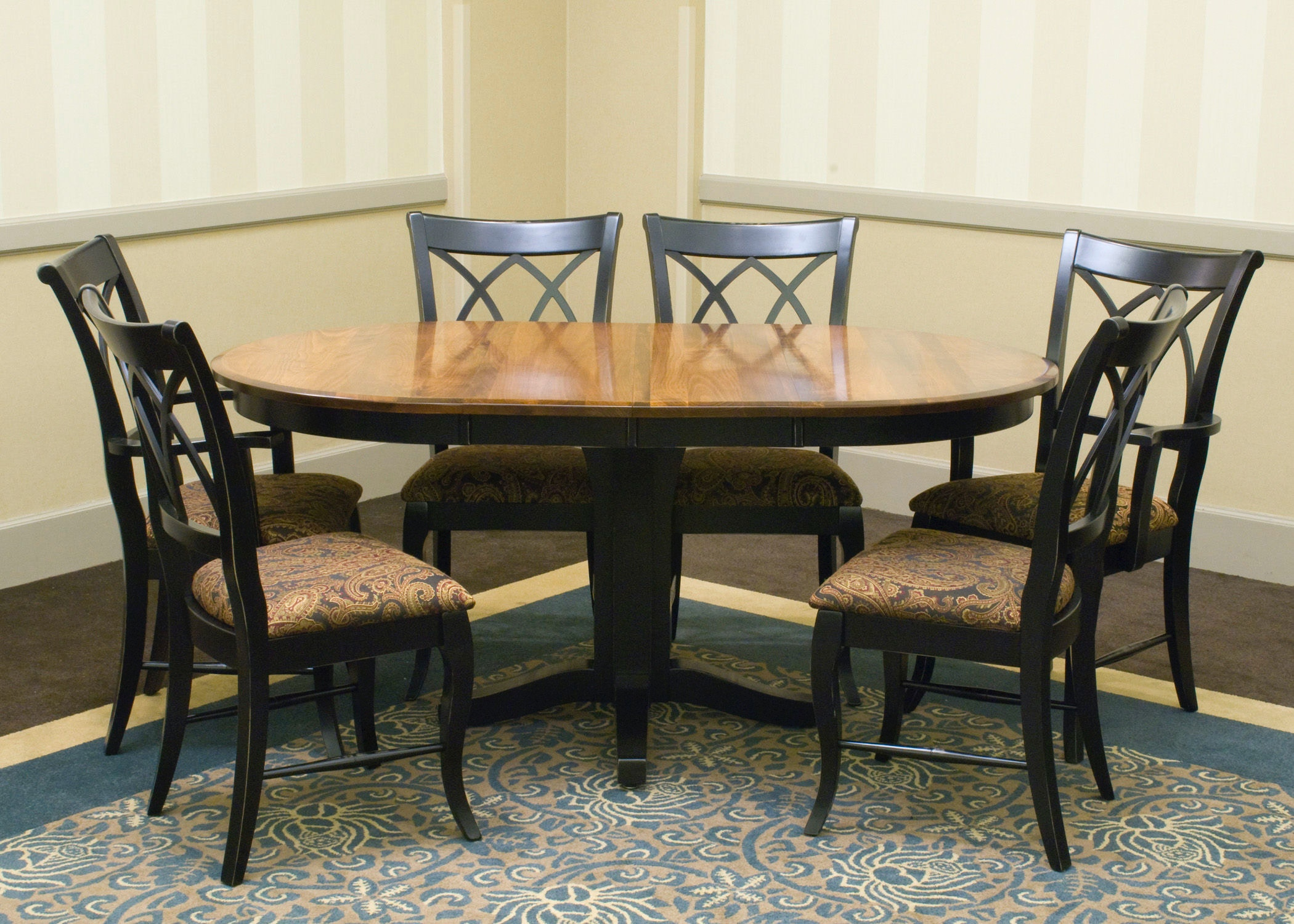 palettes by winesburg dining room round table top 3636b0