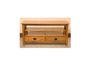YUTZY WOODWORKING Media Console 1055