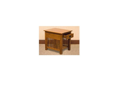 YUTZY WOODWORKING End Table 1058