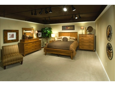 YUTZY WOODWORKING Cortland Panel Bed 1909