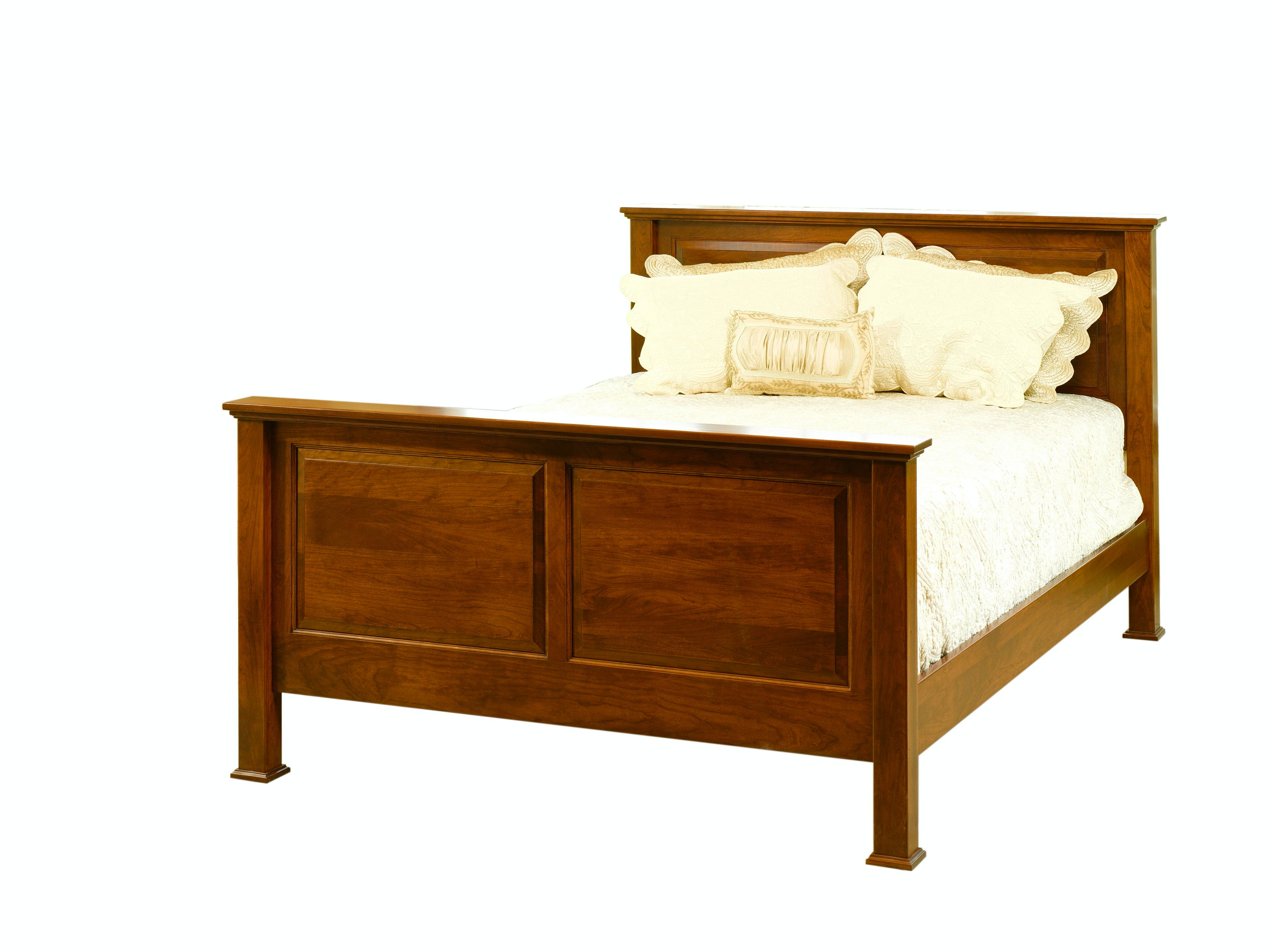 YUTZY WOODWORKING Jamestown Square Shaker Bed 31113