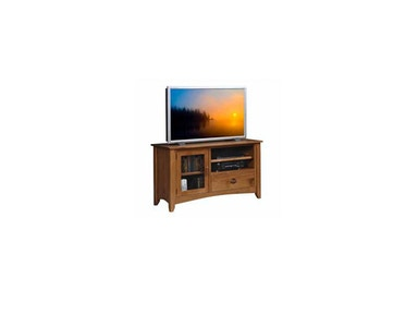 YUTZY WOODWORKING Highlands TV Console 3402