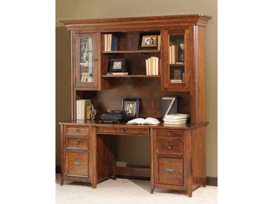 YUTZY WOODWORKING Double Pedestal Credenza 88217