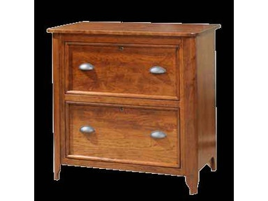 YUTZY WOODWORKING 2 Drawer Lateral File Cabinet 88223