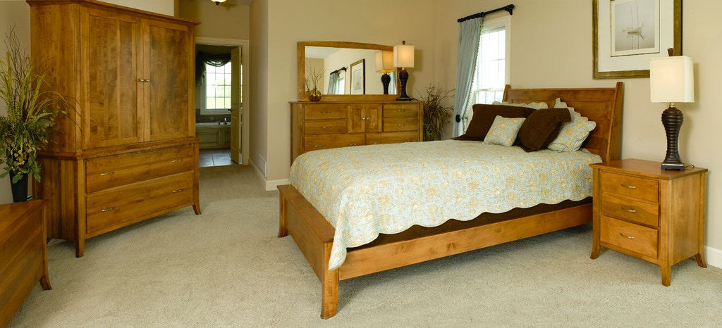 Yutzy Woodworking Bedroom Ashville Bed Twin 34107