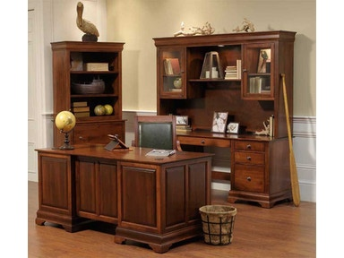 YUTZY WOODWORKING Double Pedestal Credenza 88005