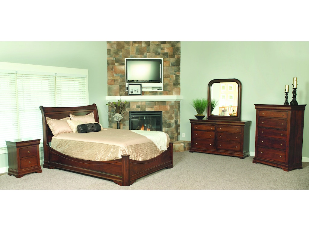Yutzy woodworking bedroom bordeaux dresser 92005 moores for Bedroom furniture limerick
