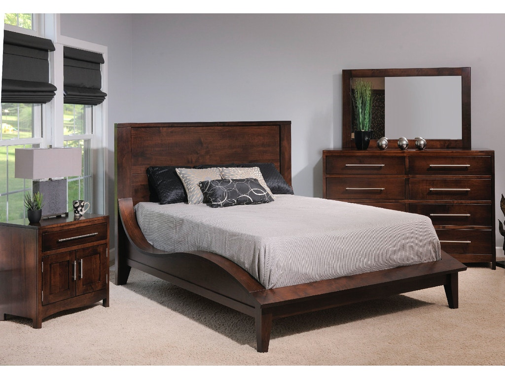 Yutzy woodworking bedroom coronado bed 61100 moores fine for Bedroom furniture limerick