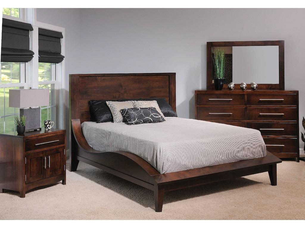Yutzy woodworking bedroom coronado bed 61101 schmitt for Bedroom furniture companies