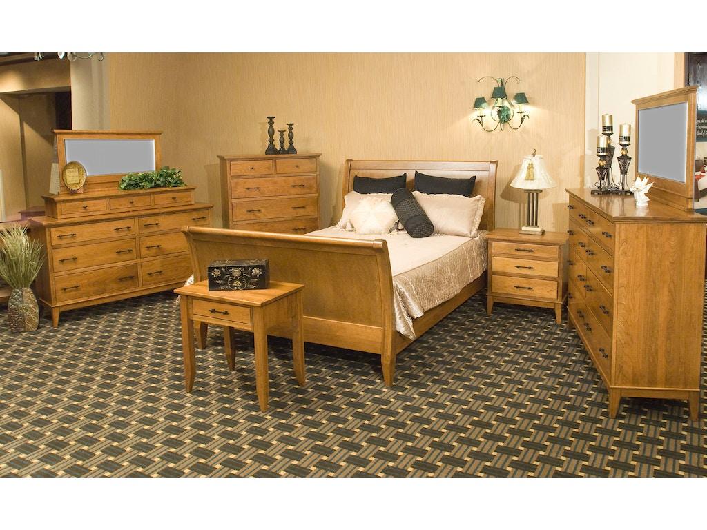 YUTZY WOODWORKING Bedroom Cortland Bed