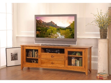 YUTZY WOODWORKING Highlands Entertainment Console 3407