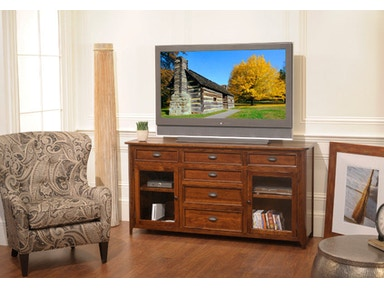 YUTZY WOODWORKING Hudson Entertainment Console 3102
