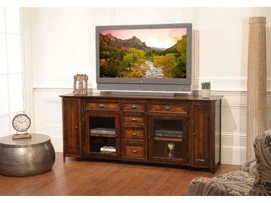 YUTZY WOODWORKING Hudson Entertainment Console 3103