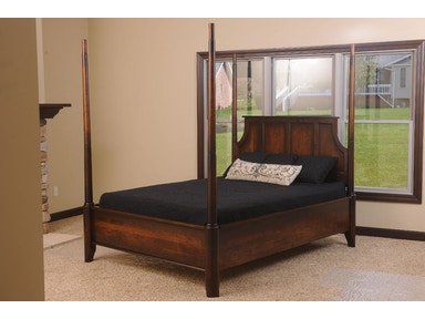 YUTZY WOODWORKING Hudson Poster Bed 1446
