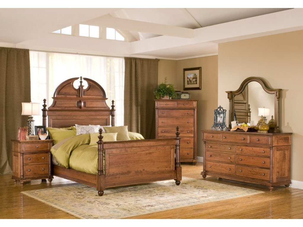 Yutzy woodworking bedroom manor bed 29101 moores fine for Bedroom furniture limerick