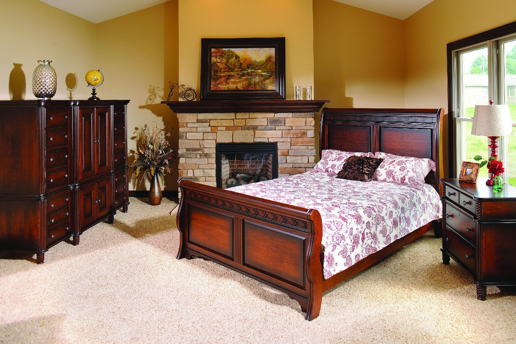 Yutzy Woodworking Bedroom New Generations Bed 74101 Whitley Furniture Galleries Raleigh Nc