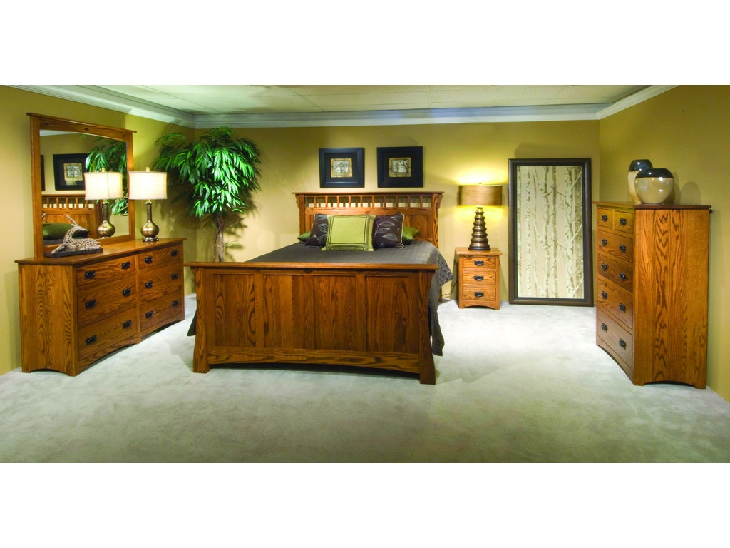 Yutzy woodworking bedroom prairie home dresser 58001 for Bedroom furniture limerick