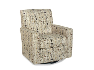 Craftmaster Living Room Swivel Chair