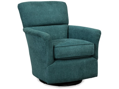 Craftmaster Living Room Swivel Chair 005110SG - CraftMaster ...