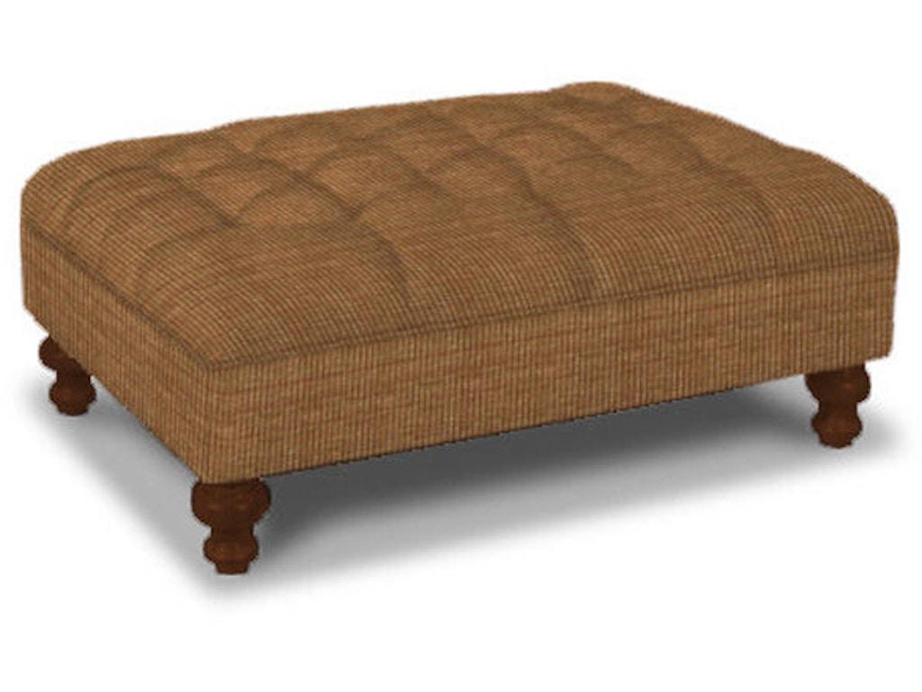 Craftmaster living room ottoman 022300 schmitt furniture for Living room ottoman