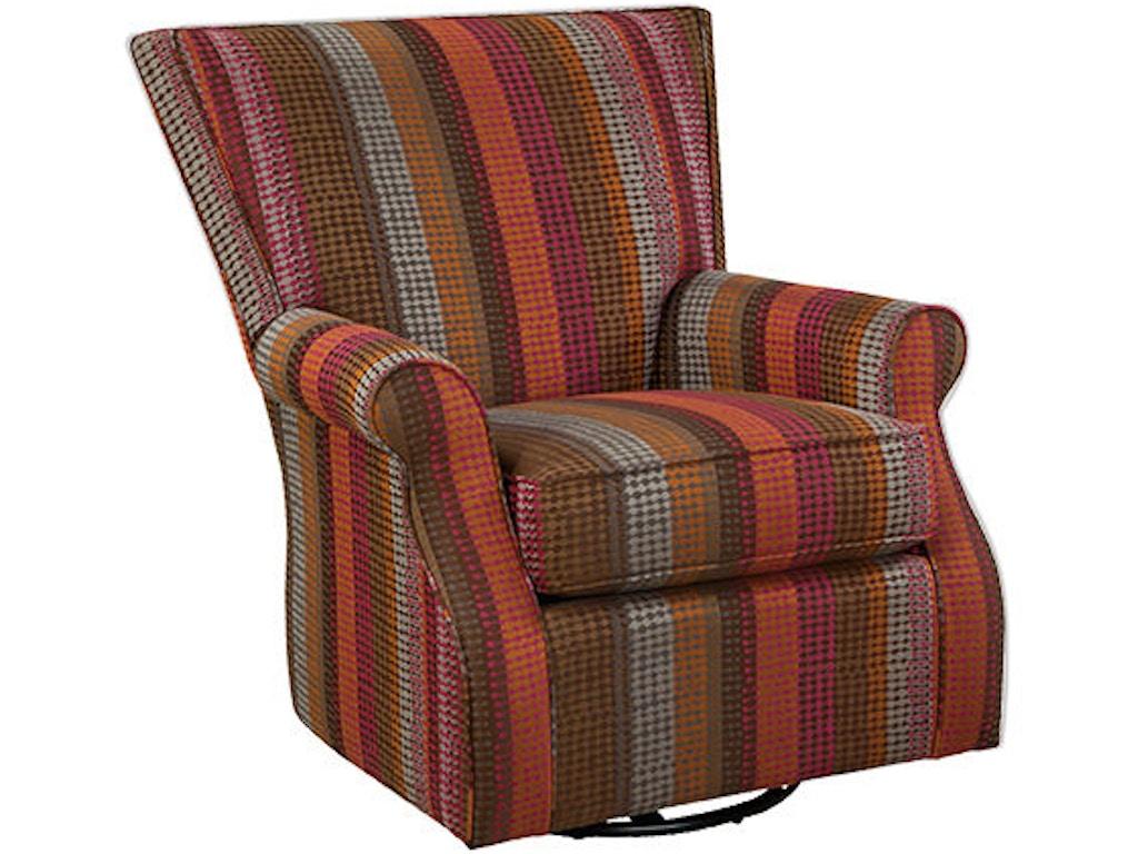 Hickorycraft Living Room Swivel Glider Chair 033810sg
