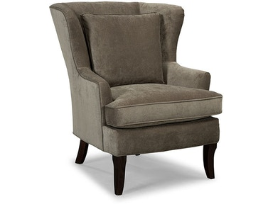 Hickorycraft Living Room Wing Chair 085010 - Hickorycraft Upholstery ...