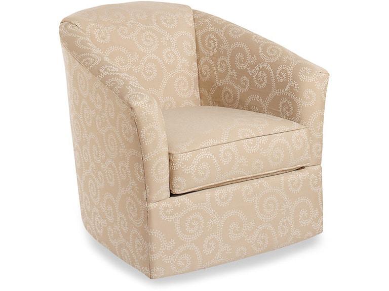 Craftmaster Living Room Swivel Chair 092910SC - Hennen Furniture ...