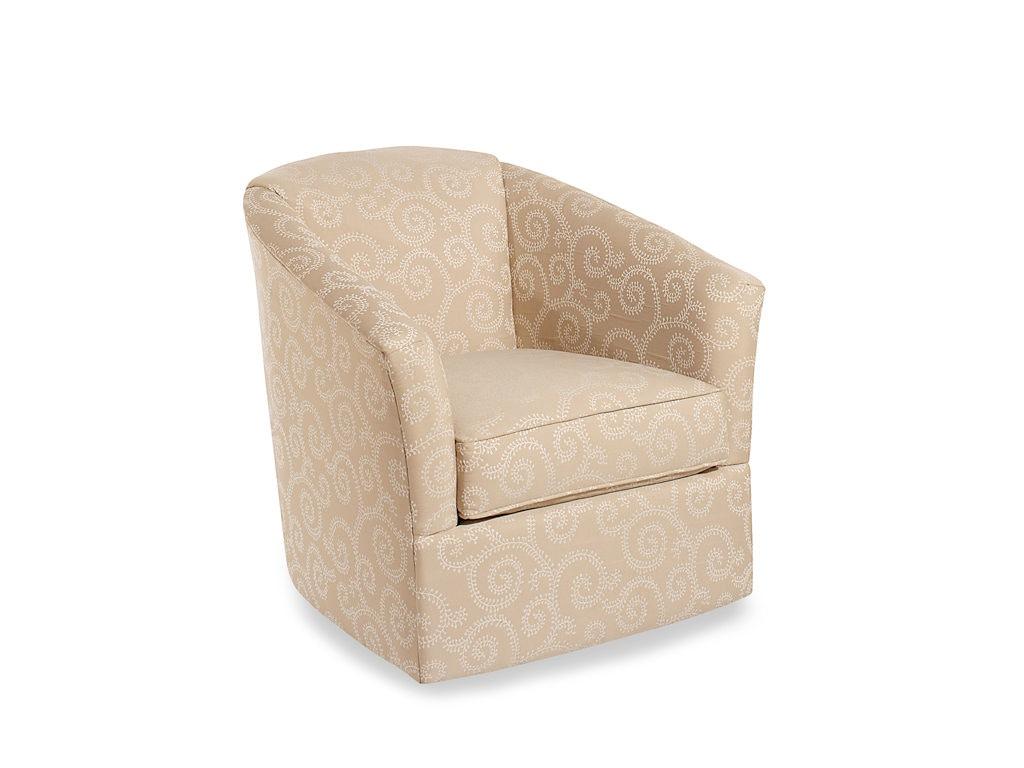 Craftmaster Living Room Swivel Chair