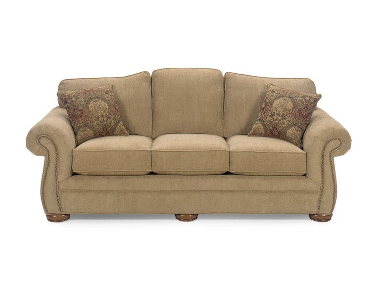 Craftmaster Three Cushion Queen Sleeper Sofa 2675-68