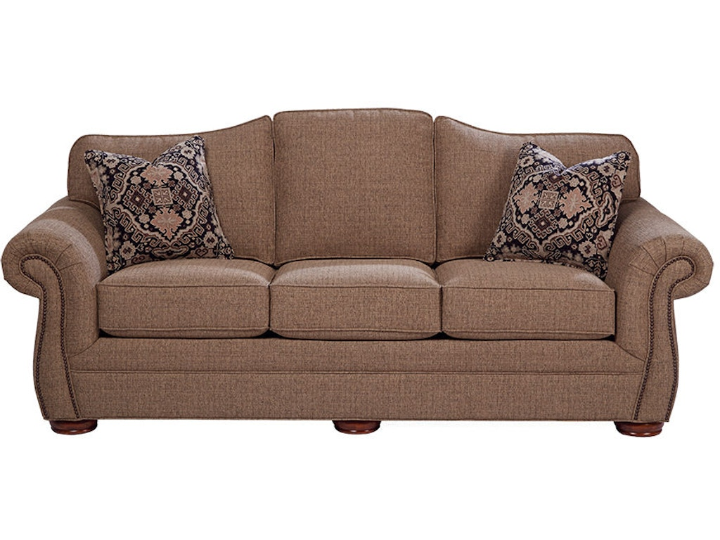 Craftmaster living room sleeper sofa 268550 68 schmitt for Classic furniture new albany in