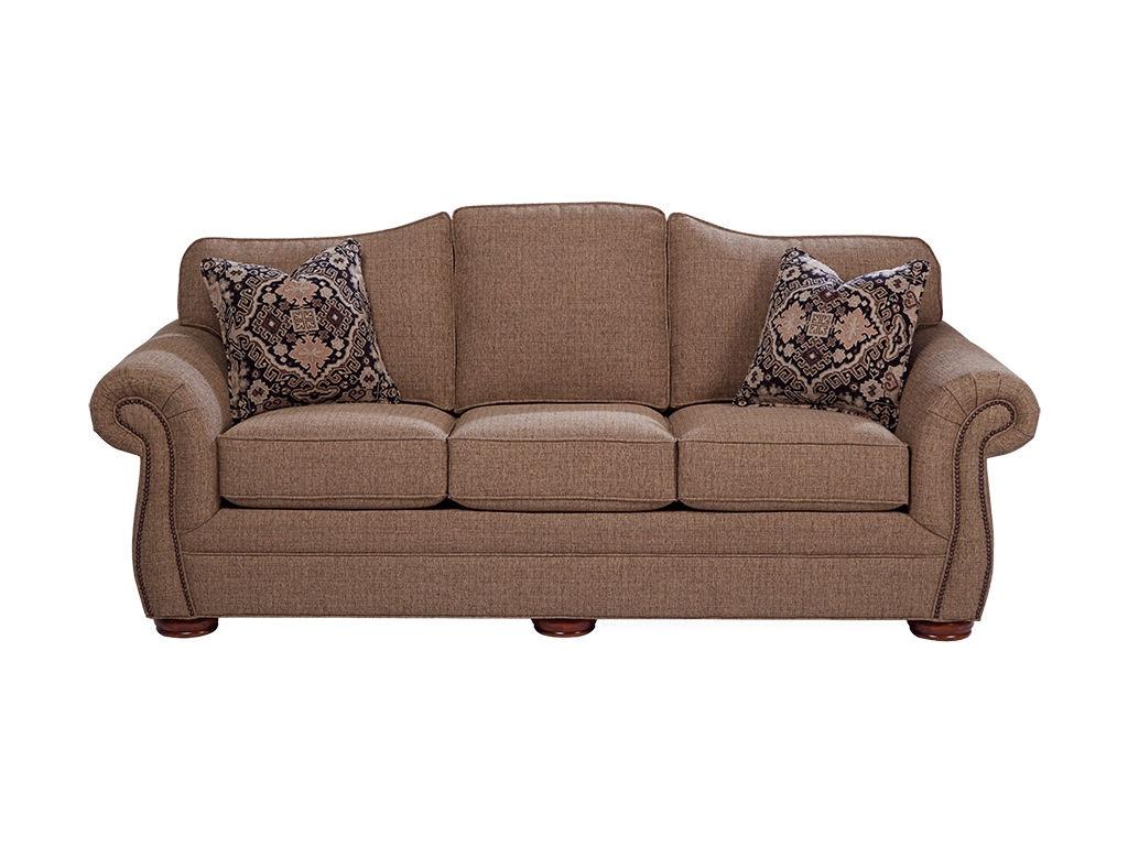 Craftmaster living room sofa 268550 union furniture for Furniture mo