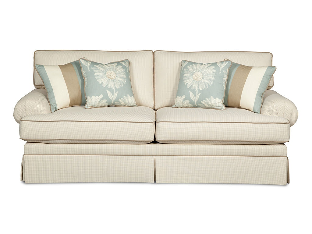 Craftmaster Two Cushion Sofa 4550 (Sleeper Also Available) ...