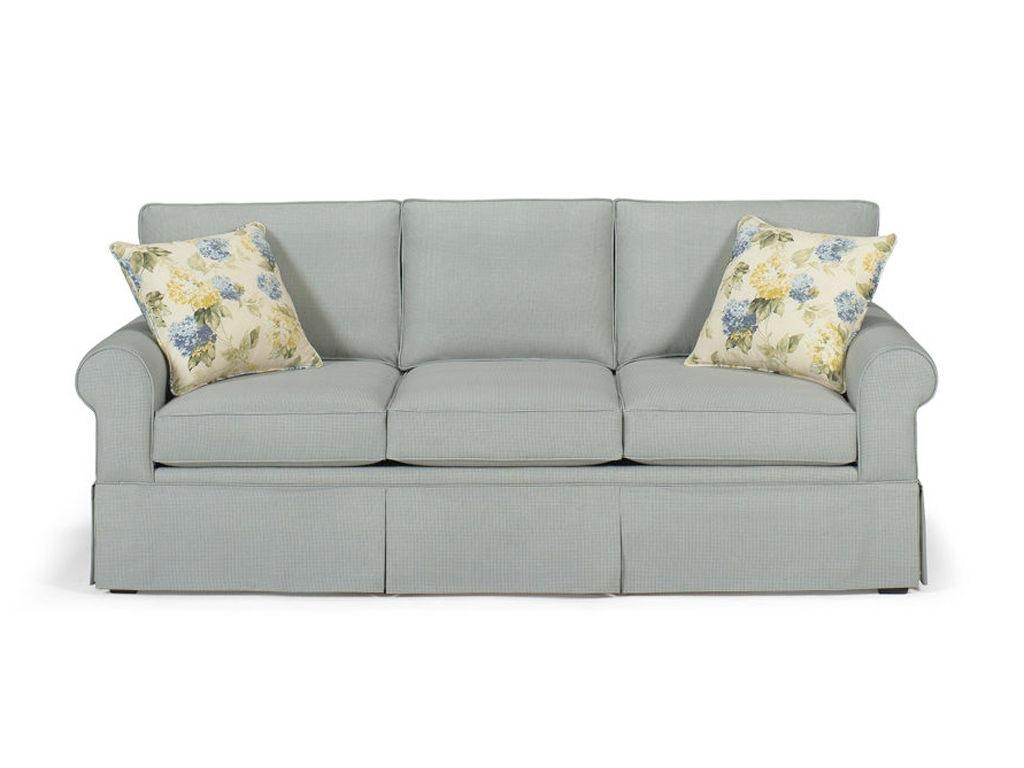 4665. Three Cushion Sofa