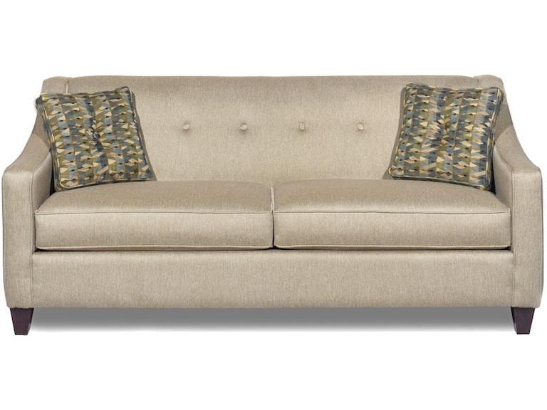 Craftmaster Living Room Two Cushion Sofa 706950 B F