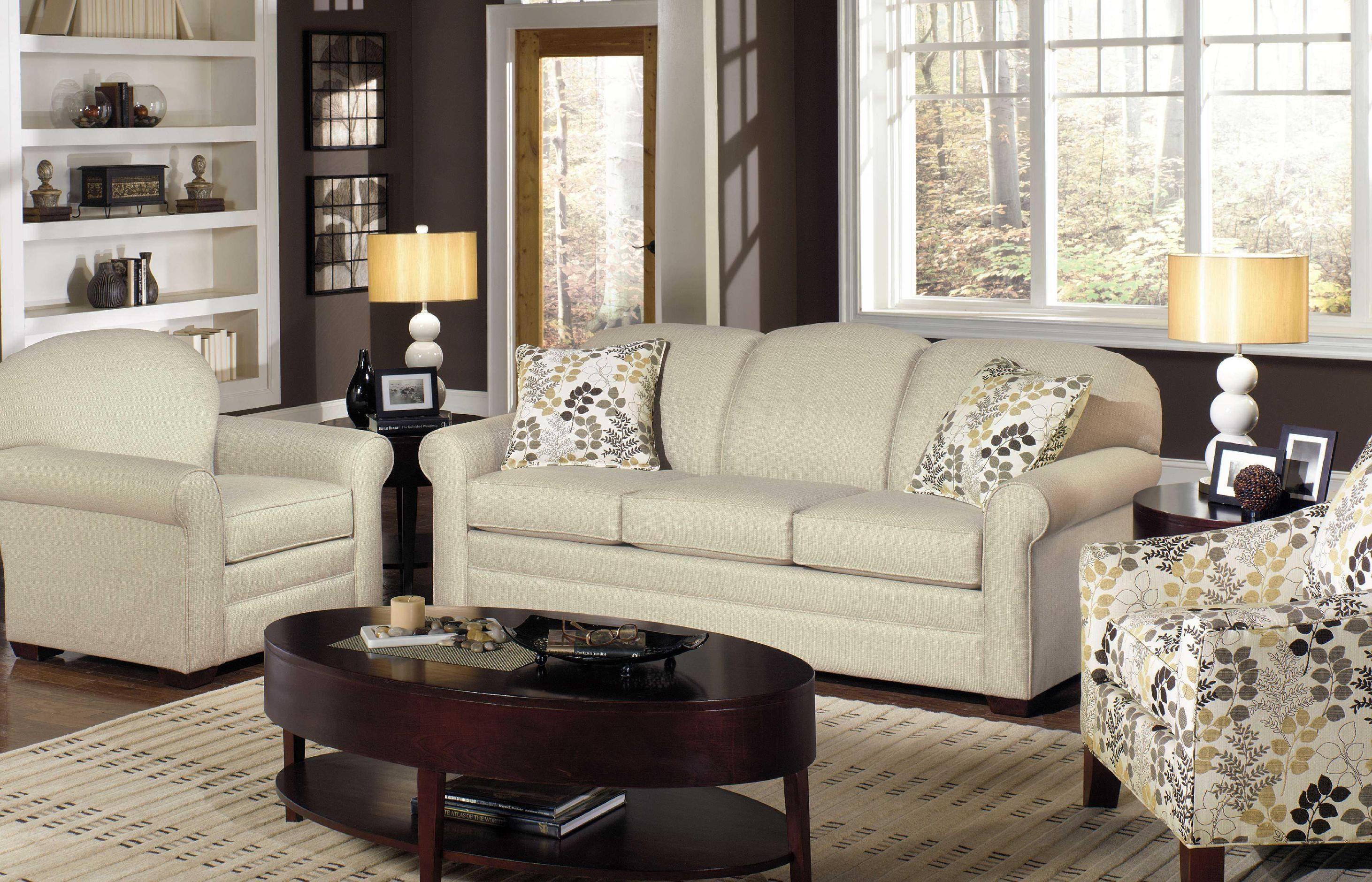 Delightful ... Cozy Life Three Cushion Sofa 718550