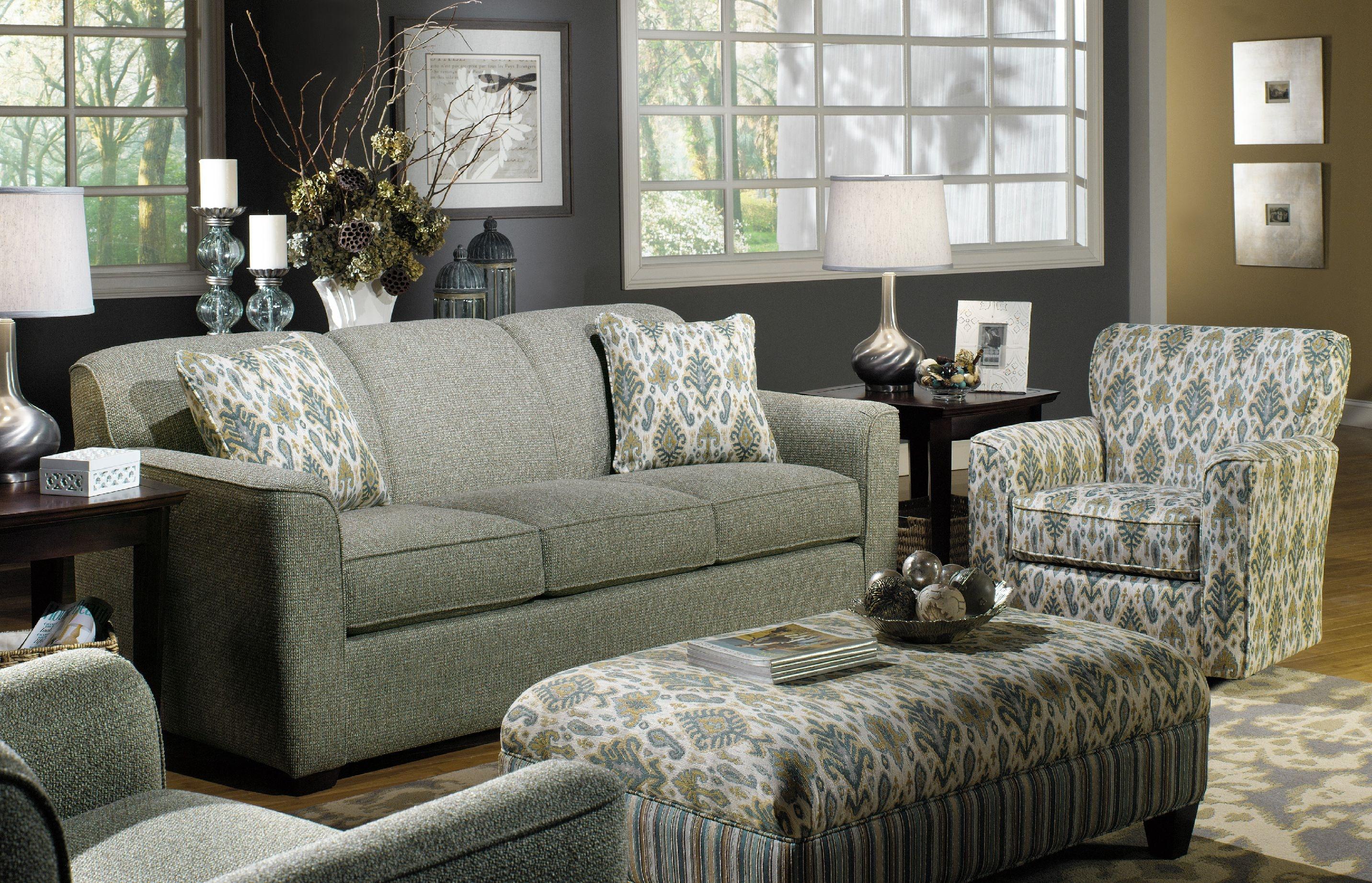 ... Craftmaster Sofa 725550 (Sleeper Also Available) ...
