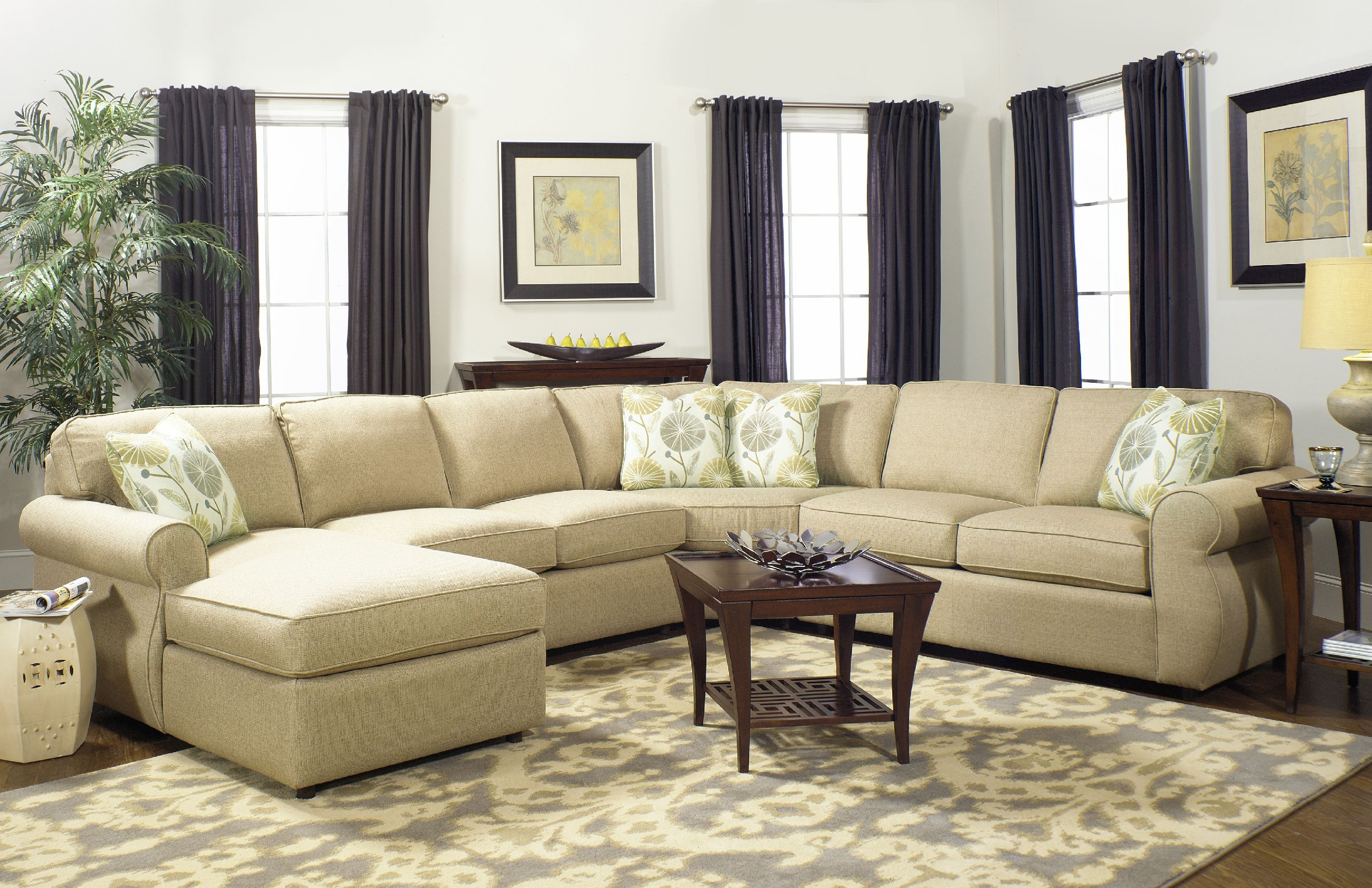 ... Craftmaster Sectional 7301-Sect (Sleeper also available) : craftmaster sectional - Sectionals, Sofas & Couches