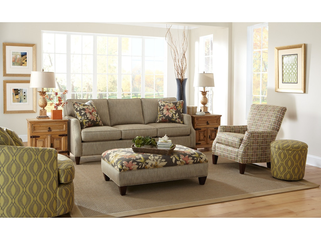 Living Room Furniture North Carolina Hickorycraft Living Room Sofa 736450 Hickorycraft Upholstery