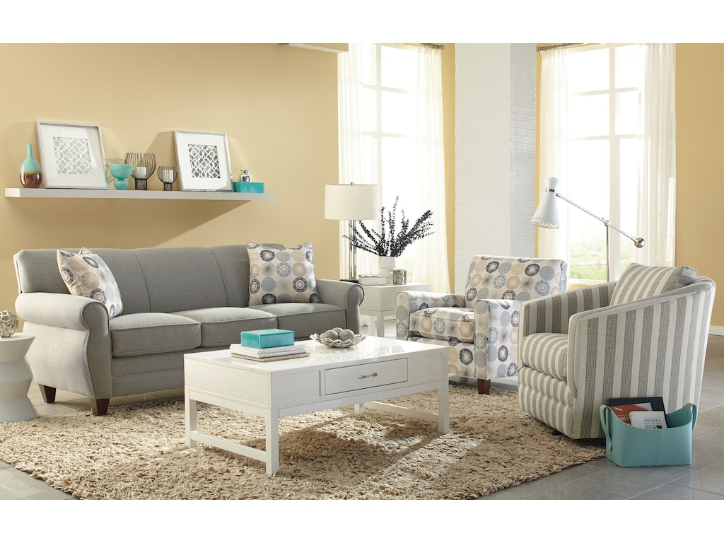 Craftmaster Living Room Sofa 738850 Carol House