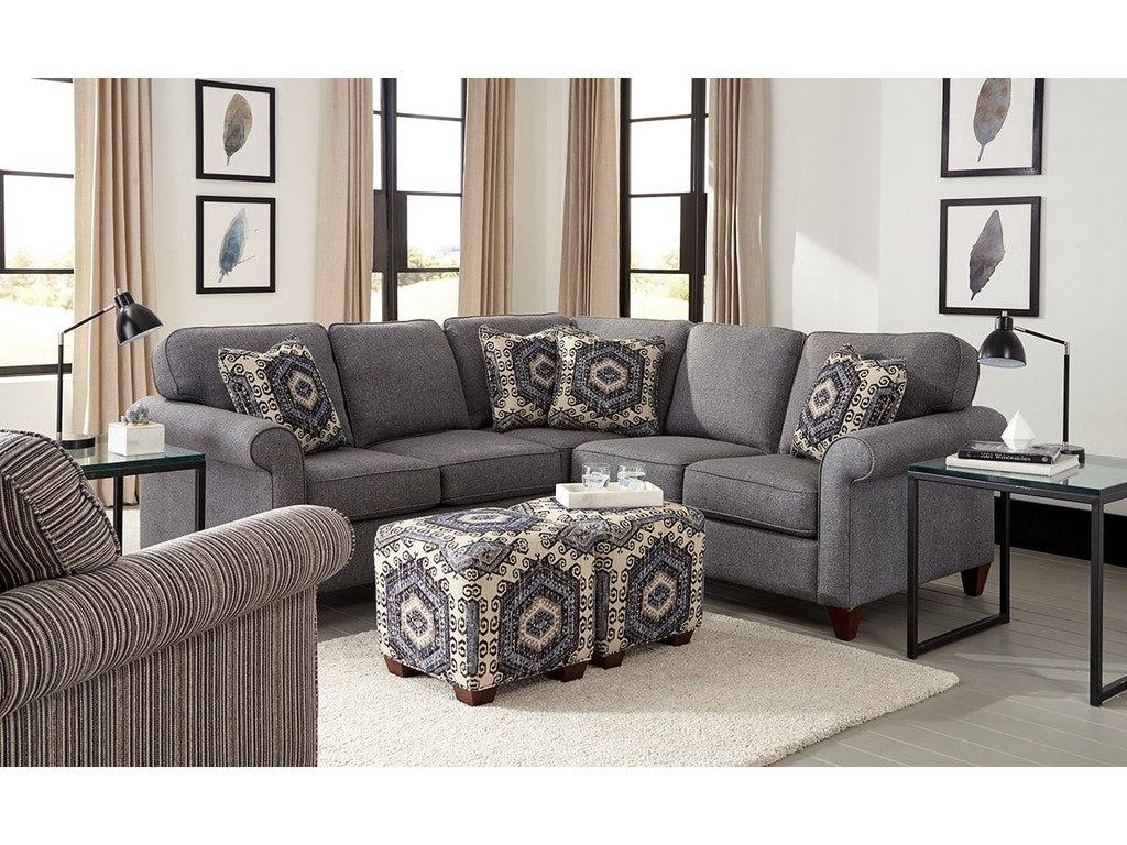 Living Room Sectionals On Craftmaster Living Room Sectional 7421 Sect Craftmaster