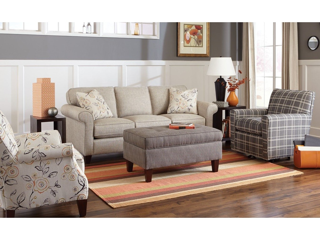 Craftmaster living room sofa 742150 schmitt furniture for Classic furniture new albany in